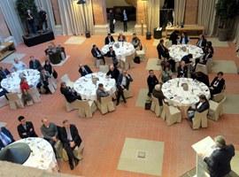 """El tinent d'alcalde Fèlix Larrosa assisteix a la conferència """"FGC, la intermodalitat al servei del territori"""""""