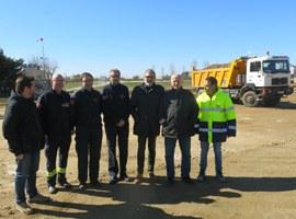 L'Ajuntament de Lleida inicia les obres d'urbanització de la prolongació del carrer Victòria Kent a Ciutat Jardí