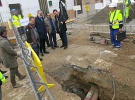 L'Ajuntament de Lleida inicia les obres de renovació del carrer Sant Francesc Xavier i carrer Còrdova als Magraners