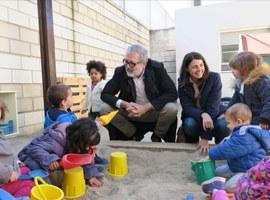 L'Ajuntament de Lleida renova de manera integral el pati de l'Escola Bressol de la Bordeta