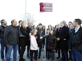 La Paeria dedica un carrer al restaurador gastronòmic Àngel Moncusí