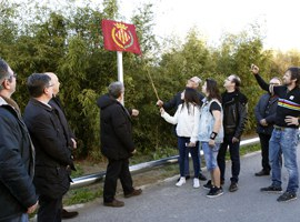 Imatge de la notícia L'alcalde de Lleida inaugura el carrer dedicat a l'astrònom Ramon Roure