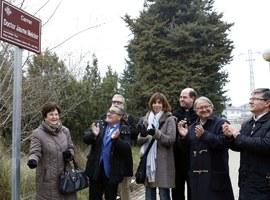 L'alcalde de Lleida inaugura el carrer dedicat al Doctor Jaume Melcior