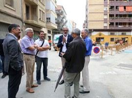 Les obres de millora del barri de Noguerola encaren la seva recta final