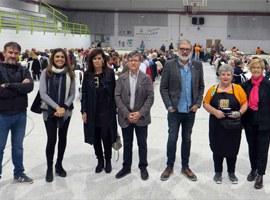 Imatge de la notícia Visita final d'obres al Pavelló de la Bordeta