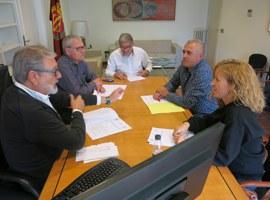 Imatge de la notícia Reunió de treball del Paer en Cap, Fèlix Larrosa, amb els presidents de les EMD's de Sucs i Raimat