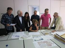 Pas endavant en el concurs d'idees per reformar les places de l'Auditori i la Panera