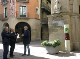 """Fèlix Larrosa: """"La Paeria obre i millora, durant aquest mandat, set carrers que connecten el Centre Històric amb el Turó de la Seu Vella de Lleida"""""""