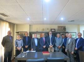 """Larrosa: """"El nou Pla d'Ordenació Urbanística Municipal és un projecte d'oportunitats per al sector empresarial de Lleida"""""""