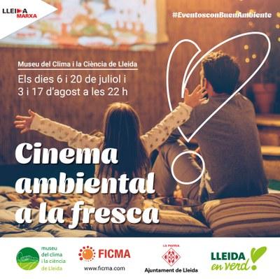 Imatge del event MOSTRA DE CINEMA AMBIENTAL A LA FRESCA- SESSIÓ 2 - 20 juliol