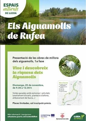 Imatge del event Vine a descobrir la riquesa dels Aiguamolls de Rufea