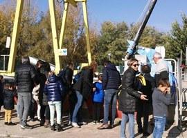 Celebració del Dia Mundial del Sanejament a Lleida amb una visita a l'estació depuradora d'aigües residuals