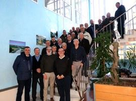 El paer en cap, Fèlix Larrosa, diu que el 2019 serà l'any de la modernització del reg al Canal de Pinyana