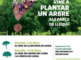 Imatge de la notícia Els lleidatans i lleidatanes crearan el nou bosc urbà al voltant del Museu del Clima i la Ciència del Turó de Gardeny