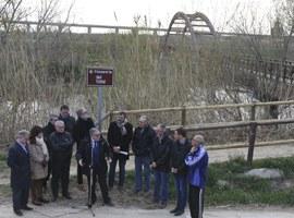 Imatge de la notícia Inauguració de la Passarel·la del Tòfol, entre Copa d'Or i Rufea