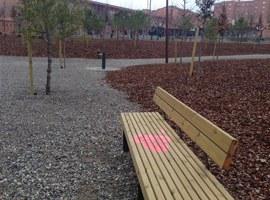Imatge de la notícia L'Ajuntament de Lleida fa una crida al civisme arran dels actes vandàlics succeïts al nou Bosc Urbà de Balàfia