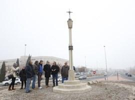 Imatge de la notícia L'Ajuntament de Lleida recupera el monument de la Creu del Batlle