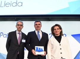 L'Ajuntament de Lleida rep per tercer any consecutiu el premi per la seva excel·lent gestió en la recollida selectiva de paper i cartó