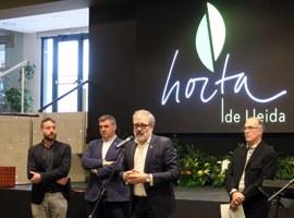 L'alcalde Larrosa destaca el compromís de la Paeria per fer viable a l'Horta un projecte d'esperança en el món rural