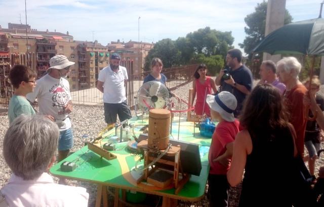 Taller al Museu del Clima i la Ciència de Lleida sobre energies renovables